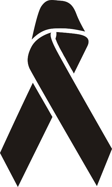 Awareness, Ribbon, Support, Black, Charity, Wiccan