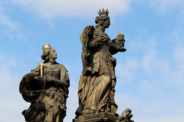 Charles Bridge, Prague, Holy, Sculpture, Stone Figure