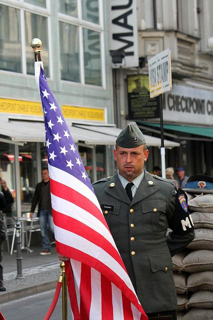 Checkpoint, Charlie, Berlin, Germany, War, Cold
