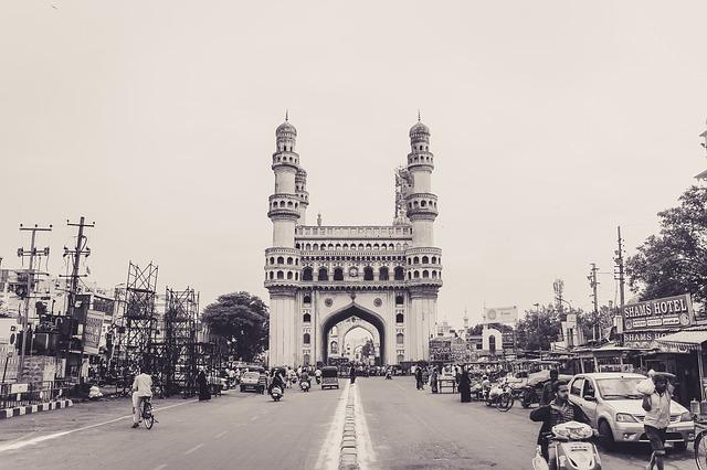 Charminar, Monument, India, Travel, Hyderabad, Andhra