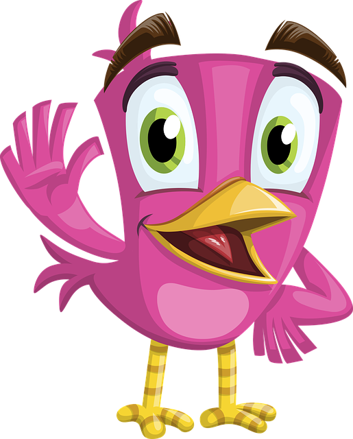 Bird, Cute, Adorable, Charming, Welcoming, Hello, Beak