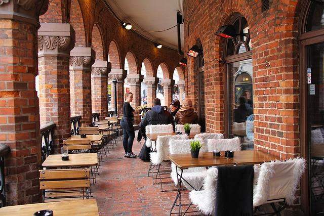 Dinning, Beautiful Place, City, Charming, Brick, Travel