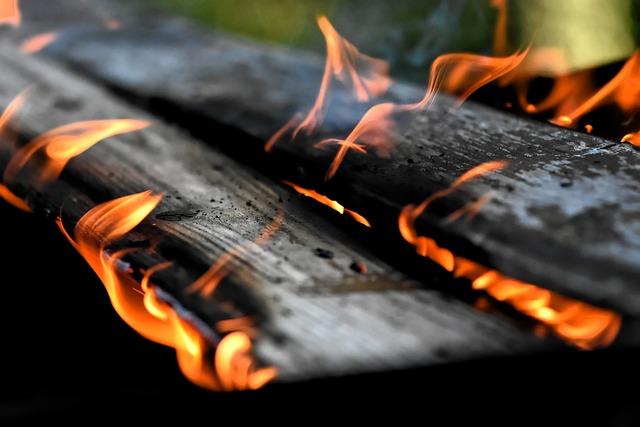 Fire, Flame, Wood, Charred, Ash, Brand, Burn, Heat, Hot