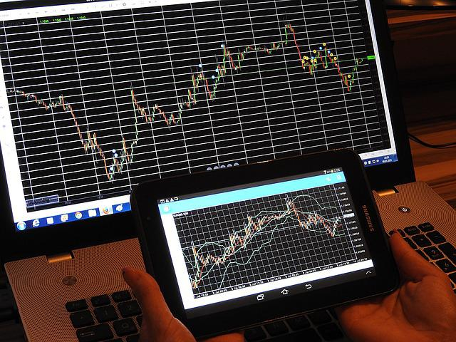 Chart, Trading, Forex, Analysis, Tablet, Pc