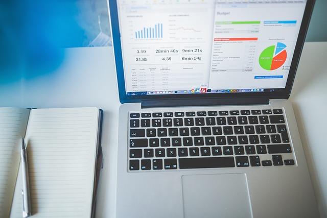 Business, Charts, Computer, Electronics, Laptop