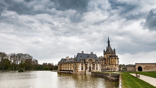Chateau, Chantilly, Picardy, France, Castle