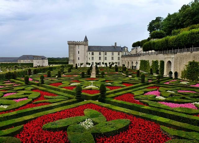 Chateau De Villandry, Architecture, History, Flowers