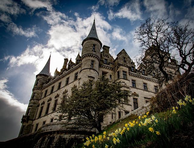 Dunrobin Castle, Castle, Chateau, Scotland
