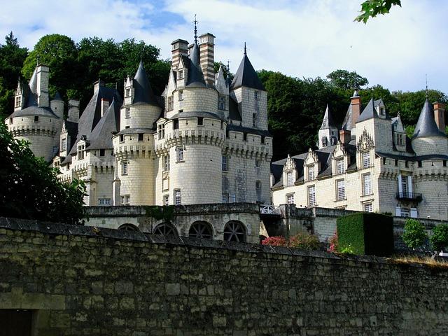 France, Loire, Castles, Chateau Ussé