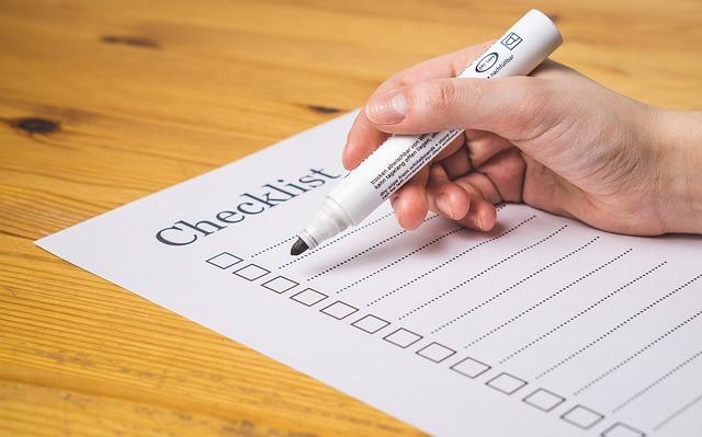 Checklist, Check, List, Marker, Checked, Pen, Pencil