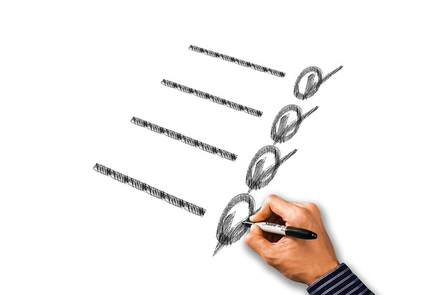 Checklist, Hand, Write, Paint, Hatch, District, Ring