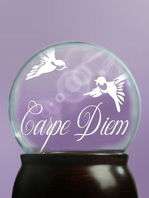 Glass Ball, Ball, Beautiful Day, Cheerful, Munter