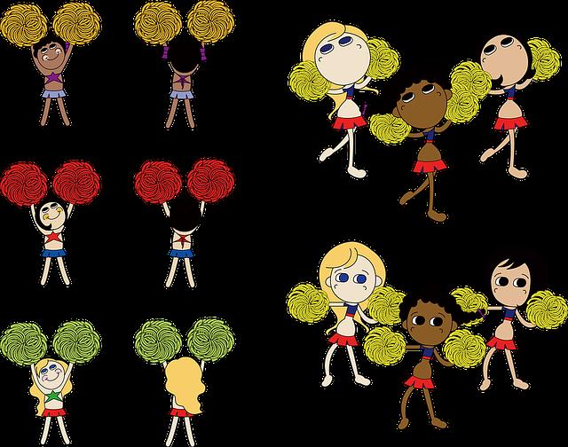 Cheerleader, Dance, Cheering