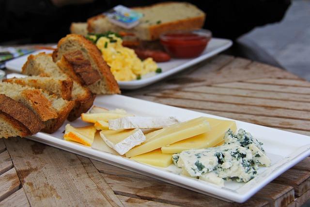 Beef, Food, Cheese, Cucumber, Bacon, Danish Herrings