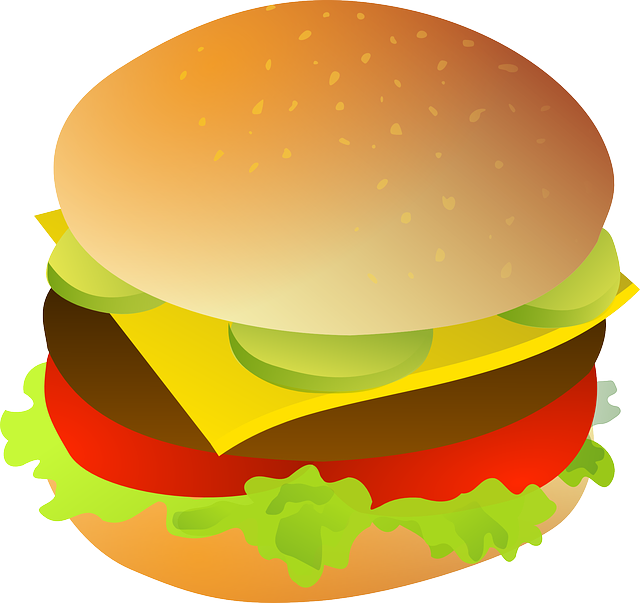 Cheeseburger, Meat, Bun, Cheese, Burger, Food, Meal