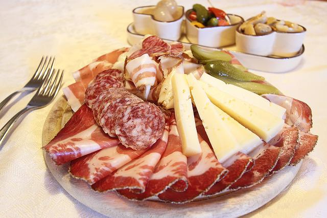 Cold Cuts, Salami, Speck, Cheese