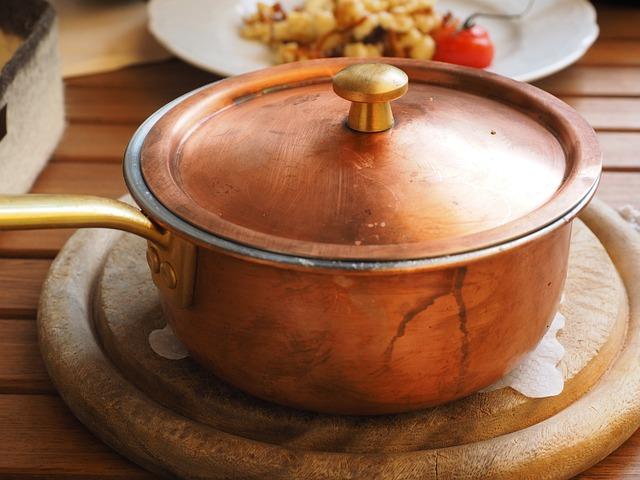 Pot, Copper Pot, Cheese Noodles, Court, Eat, Delicious