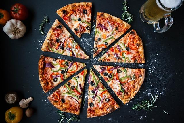 Pizza, Food, Italian, Baked, Cheese, Crust, Cuisine