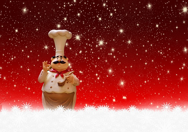 Christmas, Cooking, Chef, Holidays, Greetings