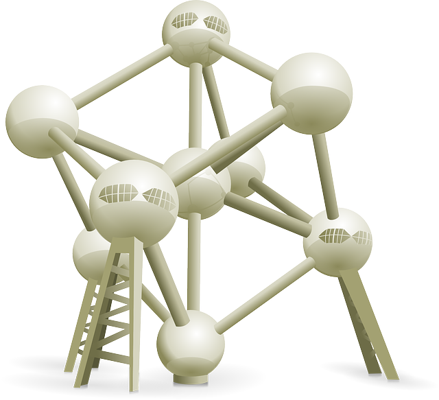 Atomium, Brussels, Expo, Chemistry, Organic, Depicting