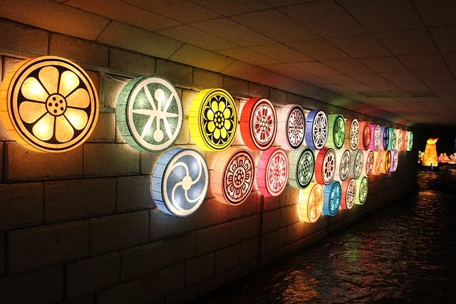 Lantern Festival, Seoul, Cheonggyecheon Stream, Lantern