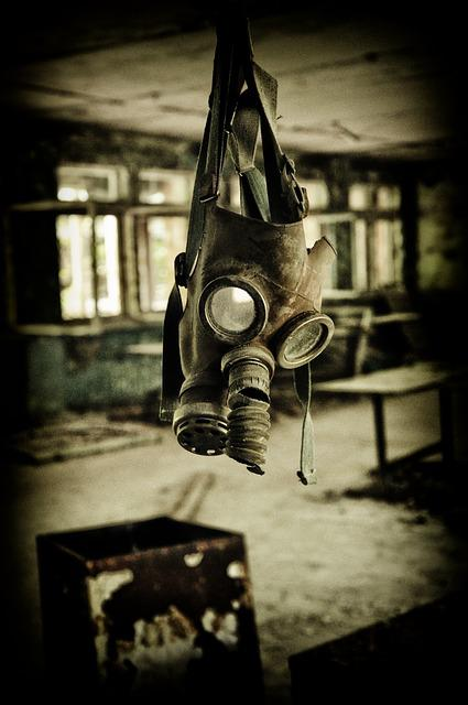 Gas Mask, Pripyat, Chernobyl