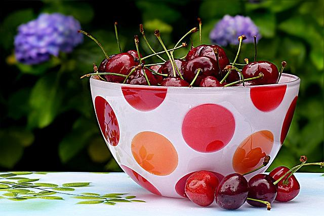 Cherries, Sweet Cherries, Red, Fruit, Food, Summer