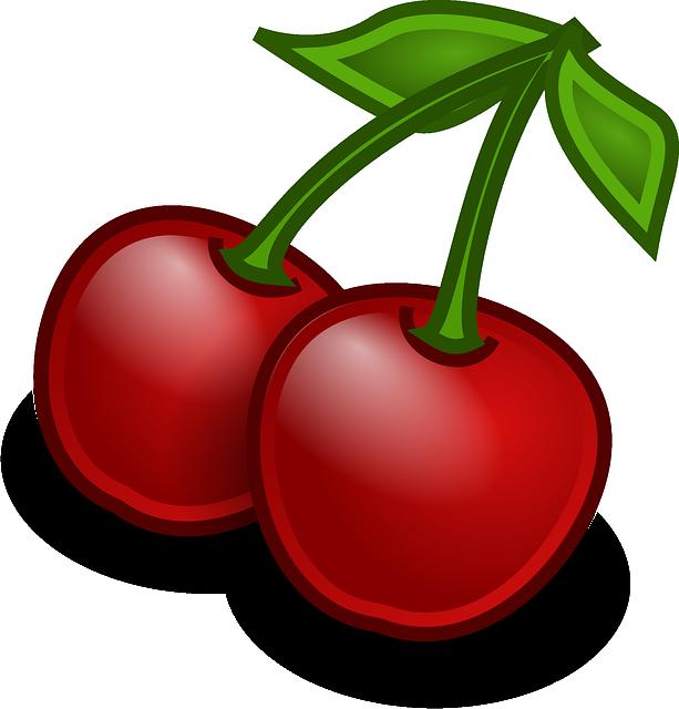 Cherries, Fruit, Food, Fresh, Sweet, Tasty, Delicious