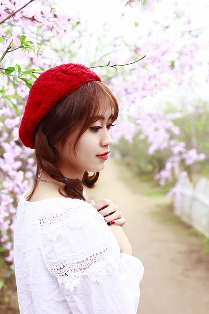 Flower, Cherry Flowers, Spring Shooting