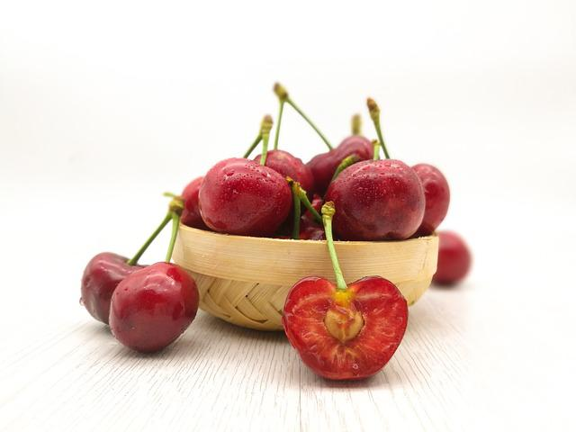 Cherries, Cherry, Fruit