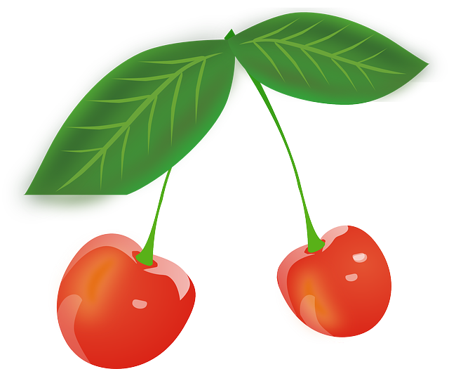 Cherry, Fruits, Red, Berries, Leaves