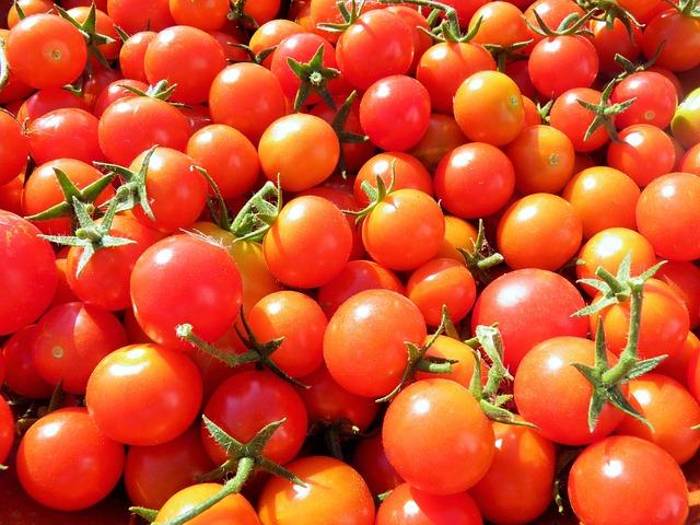 Tomatoes, Cherry Tomatoes, Organic, Vegetables, Fresh
