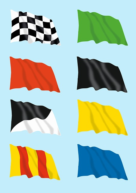 Flag, Chess, Corse, Race, Auto, Road, Sport, People