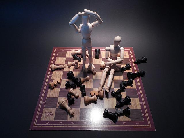 Chess, Board Game, Play, Lose, Frustration, Trouble