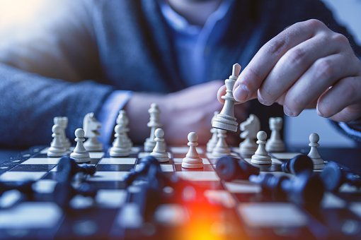 Chess, Pawn, Gameplan, Queen, Game, Business