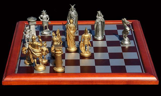 Chess, Chess Game, Chess Pieces, Strategy, Play, Think