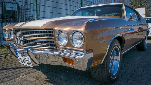 Auto, Chevrolet, Oldtimer, Chevelle, Ss, Malibu