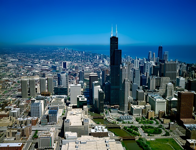 Chicago, Illinois, Architecture, Building, Downtown