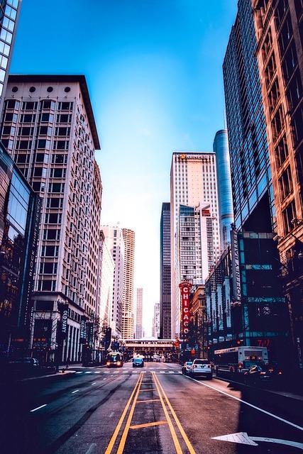 Chicago, Illinois, City, Urban, Cityscape, Buildings