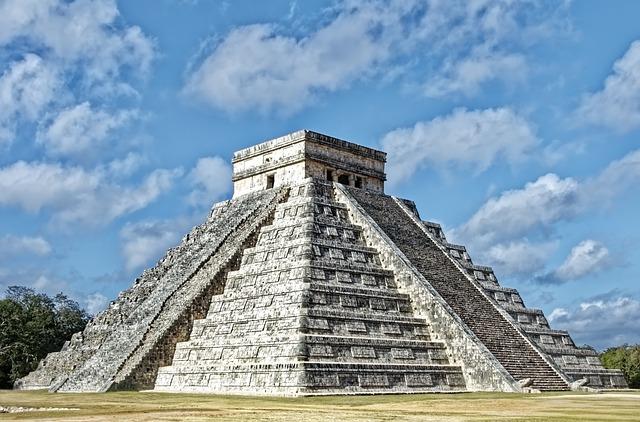 Mexico, Chichén Itzá, Pyramid, Architecture, Maya