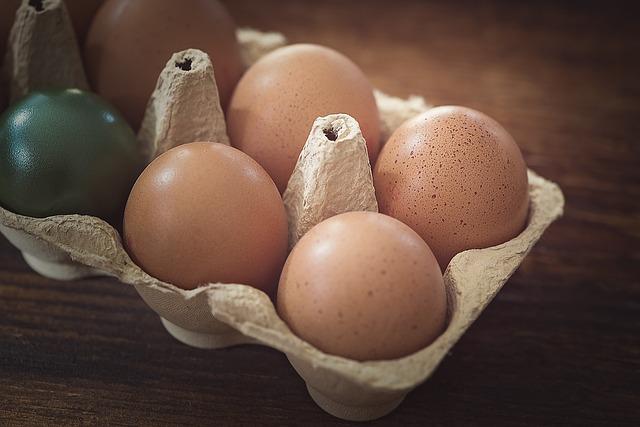 Egg, Chicken Eggs, Brown, Colored, Easter Eggs, Egg Box