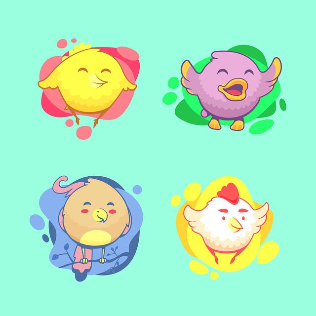 Birds, Chicken, Bird, Cute, Young, Spring, Children's