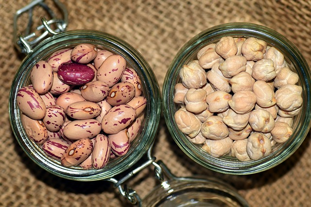 Chickpeas, Beans, Quail Beans, Food, Meatless, Legumes