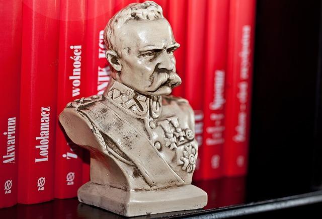 Bust, Jozef Pilsudski, Chief, Commander, Leader
