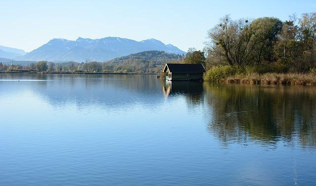 Chiemsee, Landscape, Nature, Lake, Water, Blue, Sky
