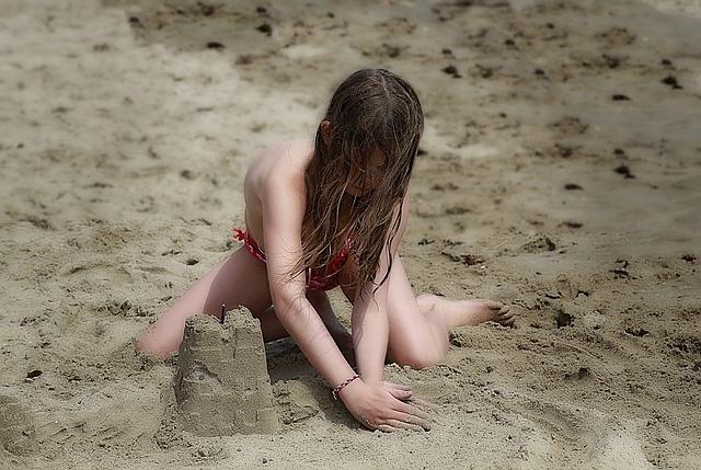 Beach, Child, Children's Games, Beach Game, Sand