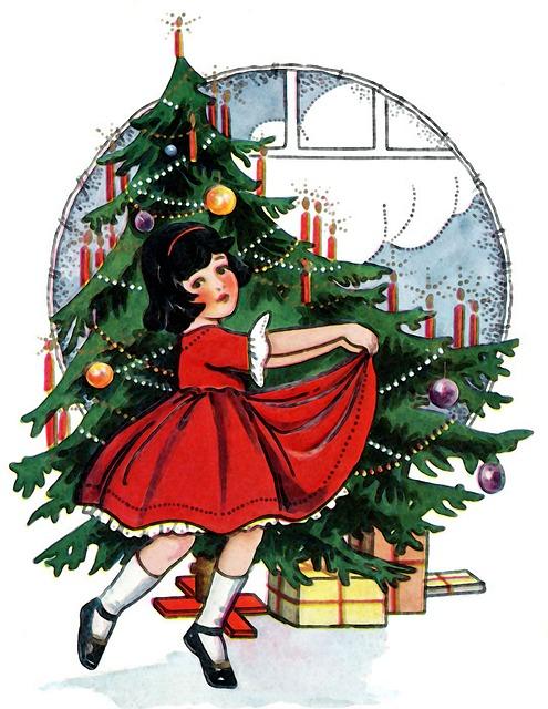Christmas, Child, Pinheiro, Christmas Tree, Parties