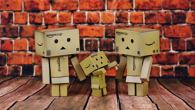 Danbo, Parents, Child, Family, Cute, Funny, Figures