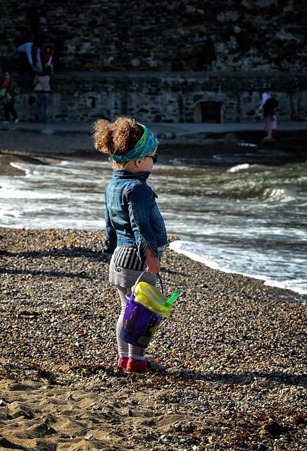 Child, Games, Beach, Sea, Children's Games, Kids Games