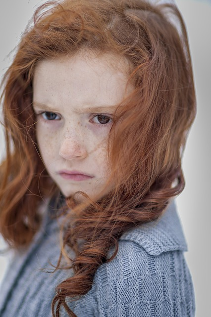 Child, Portrait, Girl, Person, Freckles, Brown, Purity